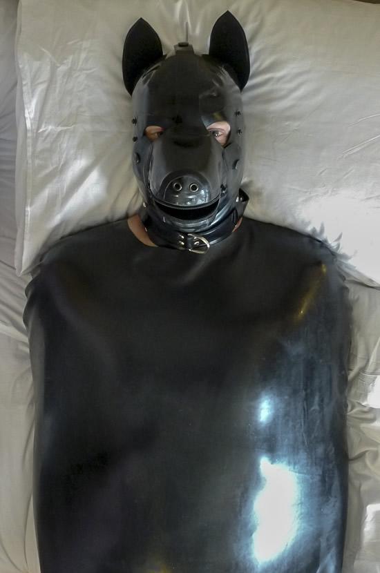 rubber sleepsack